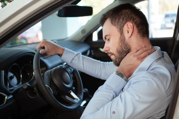 Latigazo cervical producido por accidente de coche - Accidentalia