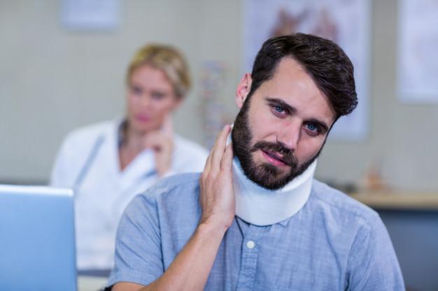 Lesión de cuello por latigazo cervical o esguince cervical - Accidentalia