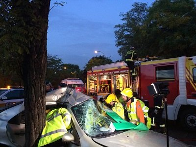 Accidentes de tráfico con lesiones graves