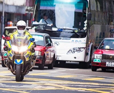 Accidentes de tráfico en transporte público