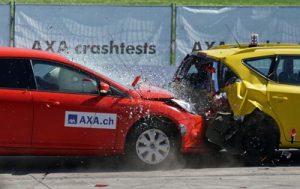 Accidente de circulacion por alcance